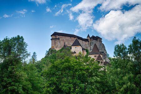 Castle of Orava Stock fotó