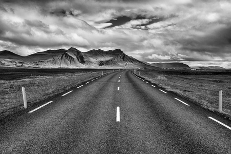 Ring road (nember 1) of Iceland