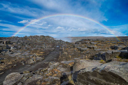 completed: Rainbow in Iceland