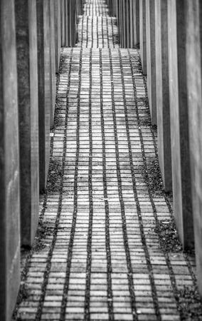 Potsdamer Platz war memorial in Berlin, Germany Stock Photo