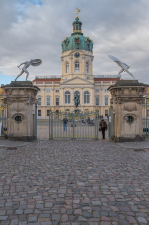 Charlottenburg castle in Berlin, Germany