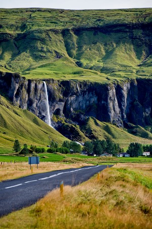 Beautiful Icelandic landscape Stock Photo