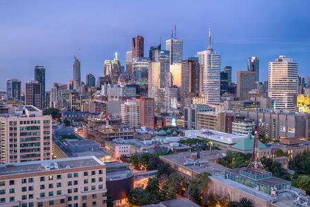 View of Toronto, Canada 写真素材