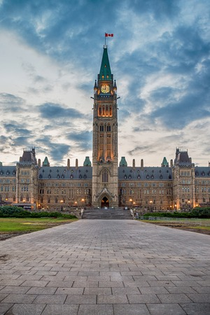 Parliament of Canada in Ottawa