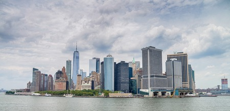 View of Manhattan, New York City Redakční