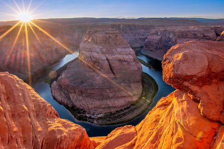 Horseshoe Bend Canyon in Arizona