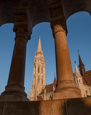 Matthias Church is a Roman Catholic church located in Budapest, Hungary, Europe Imagens