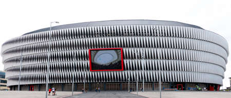 The legendary San Mames stadium of Athletic Bilbao football team, Bilbao city, Basque Country, Spain. 9th of September 2019