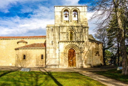 alava: The Estibaliz monastery  Alava, Spain  Stock Photo