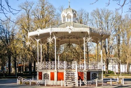 alava: Un monumento p�blico en Vitoria, Alava, Espa�a