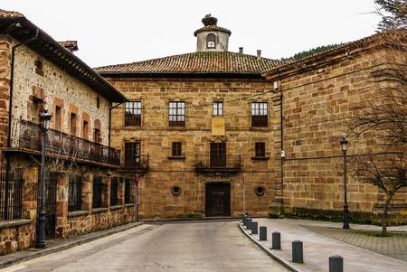 Street of Ezcaray  La Rioja, Spain  photo