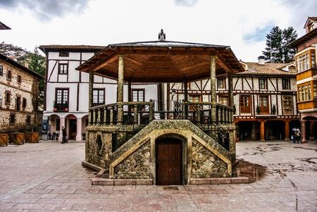 Street of Ezcaray  La Rioja, Spain  photo