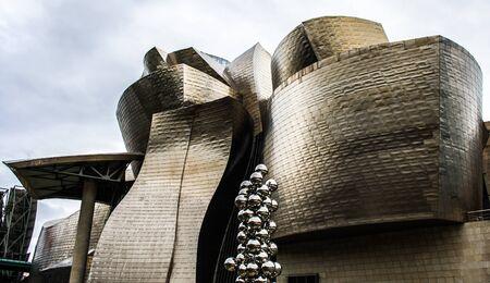 The modern Guggenheim museum