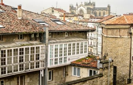 alava: La ciudad medieval de Vitoria Alava, Espa�a