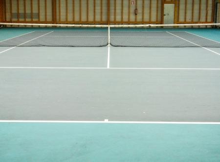 A tennis court photo