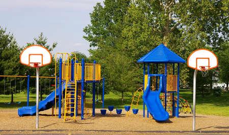 recess: Playground and basketball goals