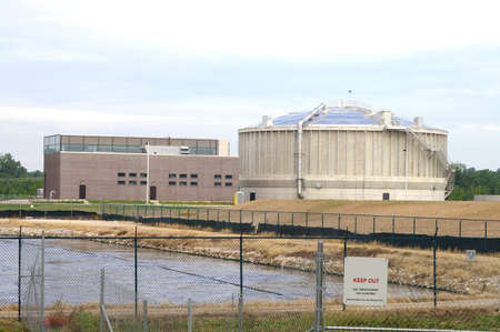 Wastewater Treatment Plant Stock Photo - 448748