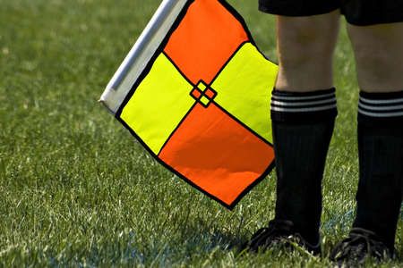 Referee and Flag Stock Photo - 965699