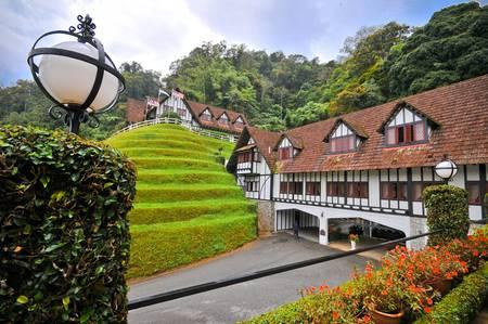 cameron highlands: Cameron Highlands, Perak, March 2011 : The Lakehouse