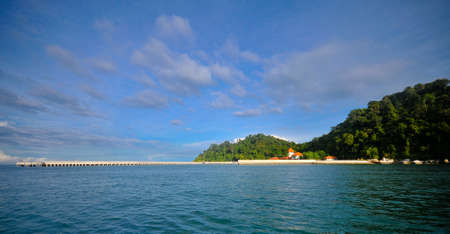 pulau: Pangkor Laut Stock Photo