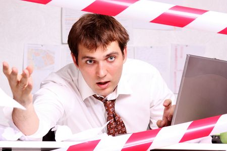 office work  Stock Photo - 5478029
