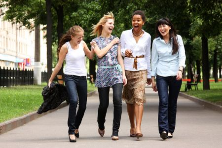 Female friendship  Stock Photo