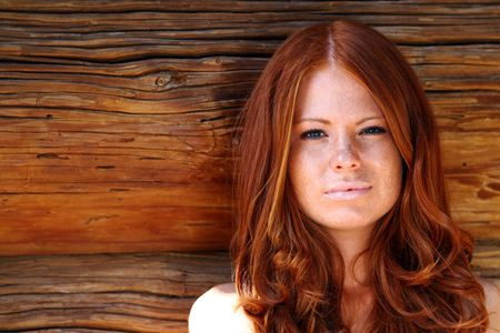 red-haired girl Stock Photo - 5793933