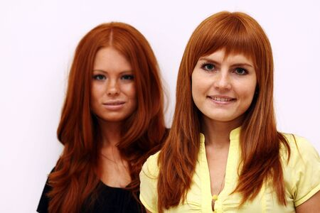 red-haired couple Stock Photo - 5793721