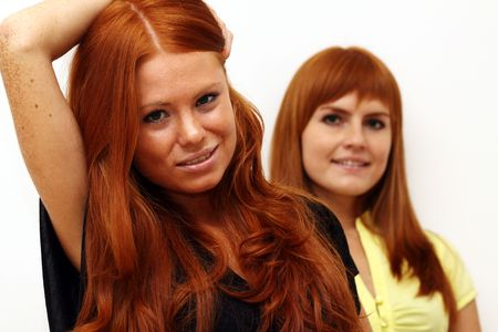 red-haired couple Stock Photo - 5793831
