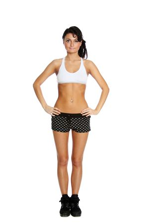 beautiful girl working out  Stock Photo - 5798058