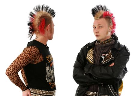 18's: moscow street punk Stock Photo