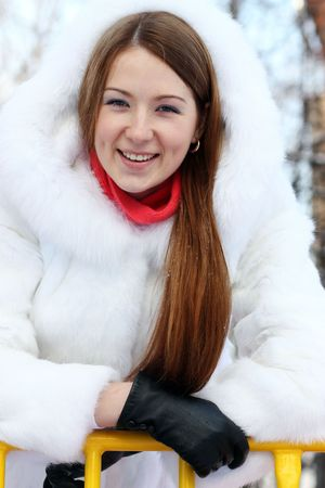 lyrical: Girl in furry hat