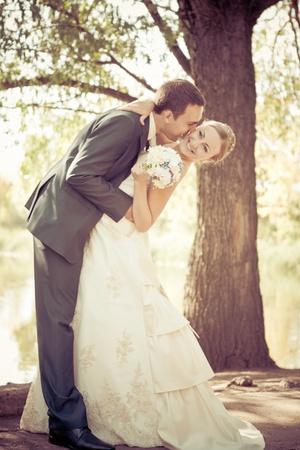 Bride and groom Stock Photo - 8548722