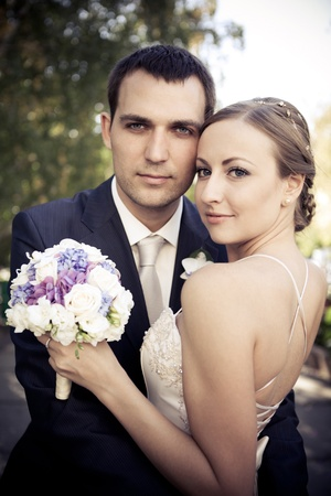 Bride and groom Stock Photo - 8548667