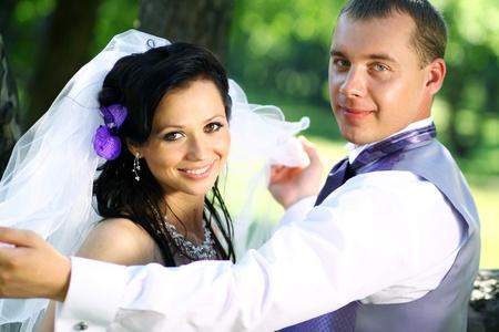 Bride and groom Stock Photo - 8528185