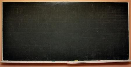 Black school blackboard  photo