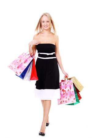 Shopping young woman  Stock Photo - 8993733
