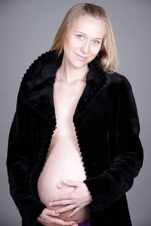 Pregnant woman - Pregnant belly Stock Photo - 8993803
