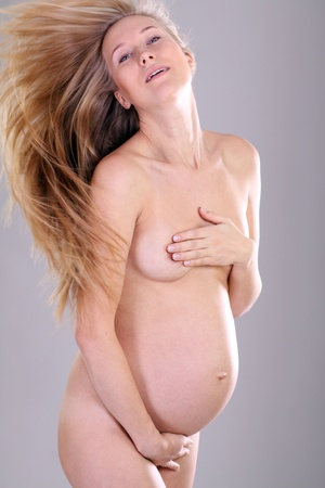 Pregnant woman - Pregnant belly photo