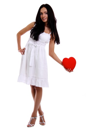 My heart - a gift at date of sacred Valentine photo