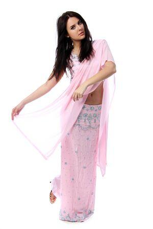young woman in sari dress Stock Photo - 9509768
