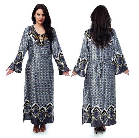young woman in sari dress Stock Photo - 9509918