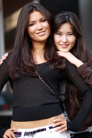 female friendship Stock Photo