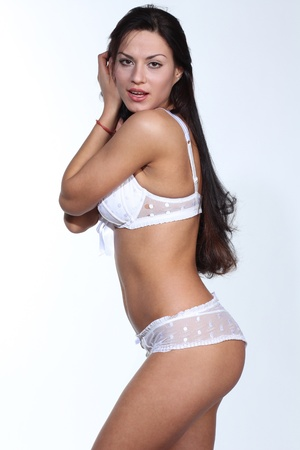 Sexy bikini model  photo