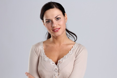 Portrait of beautiful woman  Stock fotó
