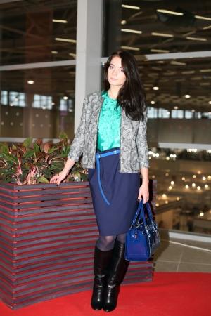 kobiet: Kobiet mody w stylowe ubrania