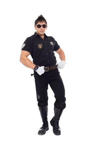 Miami police, the department of morals Stock Photo - 17270822
