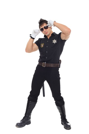 Miami police, the department of morals Stock Photo - 17270820