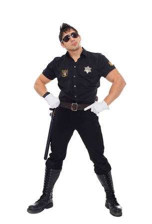 Miami police, the department of morals Stock Photo - 17270830
