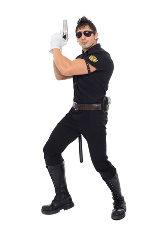 Miami police, the department of morals Stock Photo - 17270780